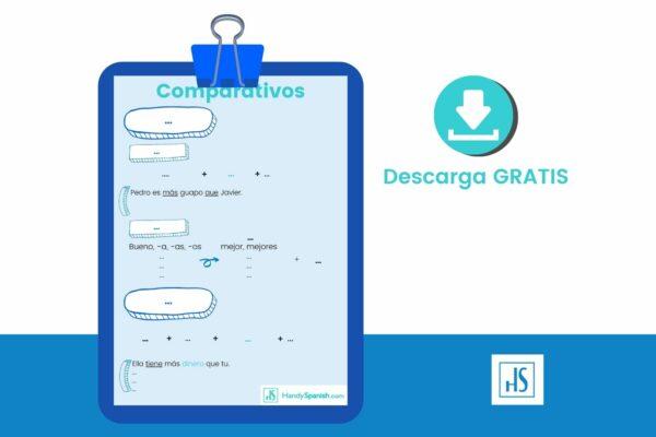los-comparativos-en-espanol